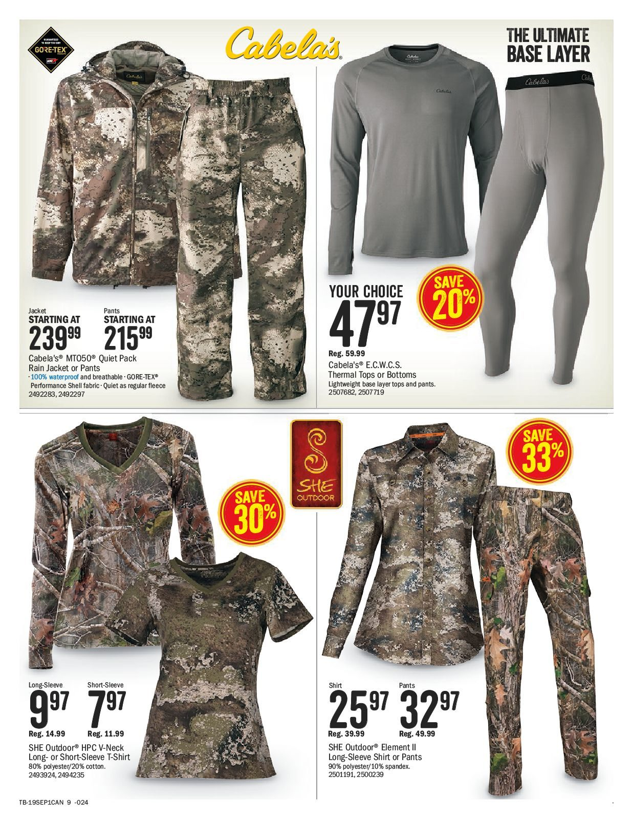 Bass Pro Shops Weekly Flyer - Kick Off Sale - Aug 26 – Sep 8