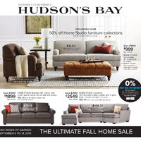The Bay - The Ultimate Fall Home Sale Flyer