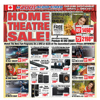 2001 Audio Video - Weekly - Home Theatre Sale! Flyer