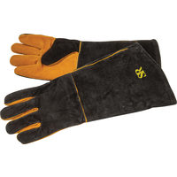 18 In. Long Suede Grill Gloves