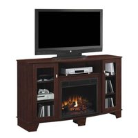 "Bell'O Media Mantle Stand For Up To 65"" TV's With Fireplace"