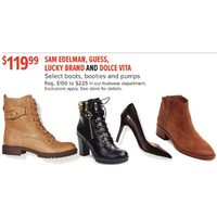 Sam Edelman, Guess, Lucky Brand And Dolce Vita