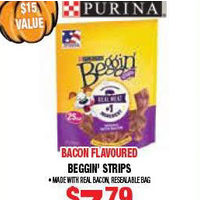 Purina Bacon Flavoured Beggin Strips