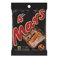 Mars Chocolate Bar Or Pouches