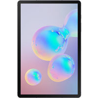 "Samsung Galaxy Tab S6 10.5"" 256GB Android 9 Tablet With Snapdragon 8150 8-Core Processor - Mountain Grey"