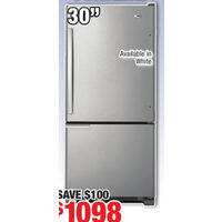 Amana 19 Cu. Ft. Bottom-Mount Fridge
