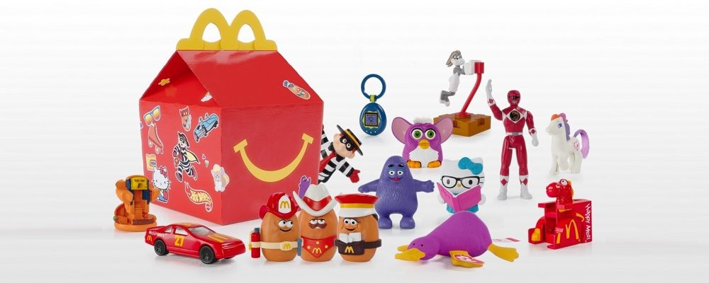 Limited Edition Throwback Happy Meal Toys Are Coming to McDonald's Canada on November 7th!