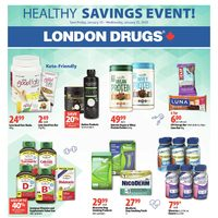 London Drugs - Healthy Savings Event! Flyer