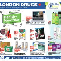 - 6 Days of Savings - Healthy New Year Flyer