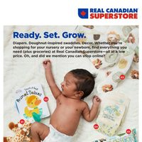Real Canadian Superstore - Baby Book - Ready. Set. Grow. Flyer