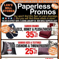Len's Mill Stores - Weekly Deals Flyer