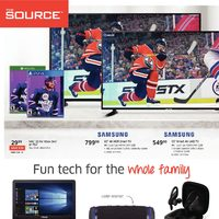 The Source - 3 Weeks of Savings - Fun Tech For The Whole Family Flyer