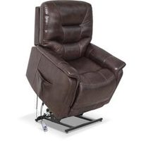 Parker Genuine Leather Power Lift Chair