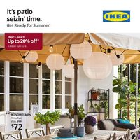 IKEA - The Outdoor Event Flyer