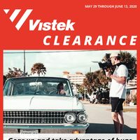 Vistek - Clearance Sale Flyer