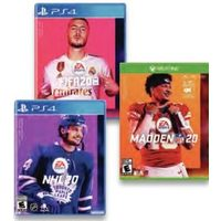NHL 20, FIFA 20 Or MADDEN 20 For Playstation 4 Or Xbox One