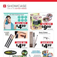 Showcase - Hottest Trends Flyer