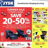 JYSK - Summer Sale Flyer