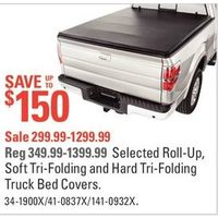 Roll-Up, Soft Tri-Folding And Hard Tri-Folding Truck Bed Covers