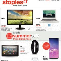 - Weekly - Tech Summer Sale Flyer