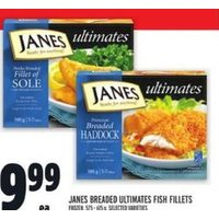 Janes Breaded Ultimates Fish Fillets