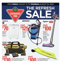 Canadian Tire - Weekly - The Refresh Sale Flyer