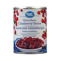 Great Value Cranberry Sauce