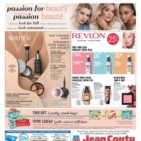 Jean Coutu - Passion For Beauty Event Flyer
