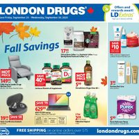 - 6 Days of Savings - Fall Savings Flyer