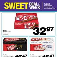 Wholesale Club - Sweet Deal of The Week Flyer