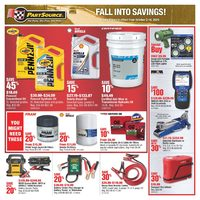 PartSource - Fall Into Savings Flyer
