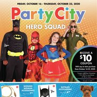Party City - Hero Squad Flyer