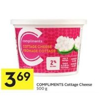 Compliments Cottage Cheese
