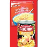 Knorr or Lipton Soup Mix or Campbell's Chunky or Everyday Gourmet Soup