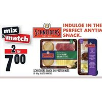 Schneiders Snack or Protein Kits