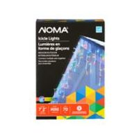 Noma Outdoor LED Icicle Light Sets