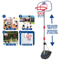 NBA Junior Adjustable Indoor Outdoor Basketball System