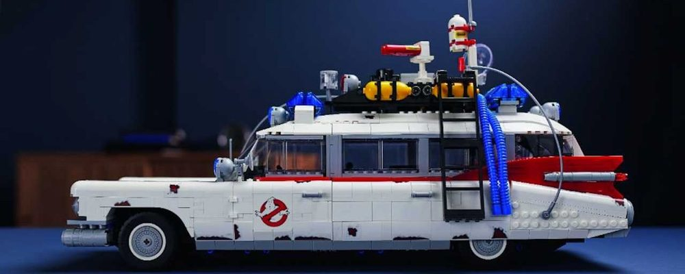 LEGO is Releasing a Huge New 2,352 Piece Ghostbusters Ecto-1 Set on November 15th