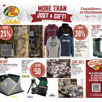 Bass Pro Shops - Countdown To Christmas - More Than Just A Gift! Flyer