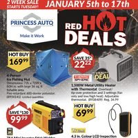 - 2 Week Sale - Red Hot Deals Flyer