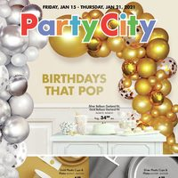 Party City - Birthdays That Pop Flyer