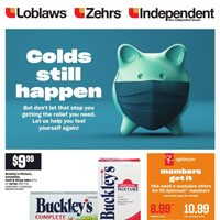 Zehrs - Colds Still Happen Flyer