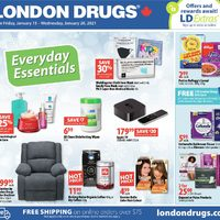 London Drugs - 6 Days of Savings - Everyday Essentials Flyer