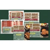 Greenfield Bacon, Wieners or Sausages or Greenfield Frozen Breakfast Sausage Links or Rounds