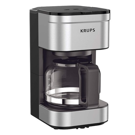 6. Also Consider: Krups Simply Brew Compact Filter Drip Coffee Maker