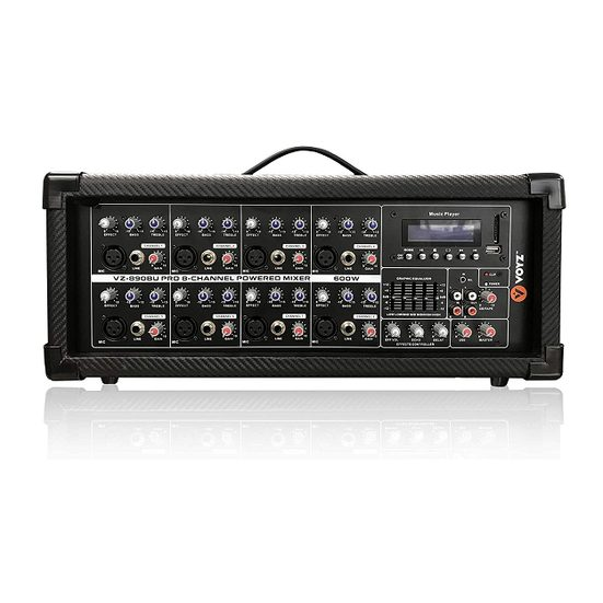 5. Sleeper Pick: VOYZ 8-Channel Powered Mixer