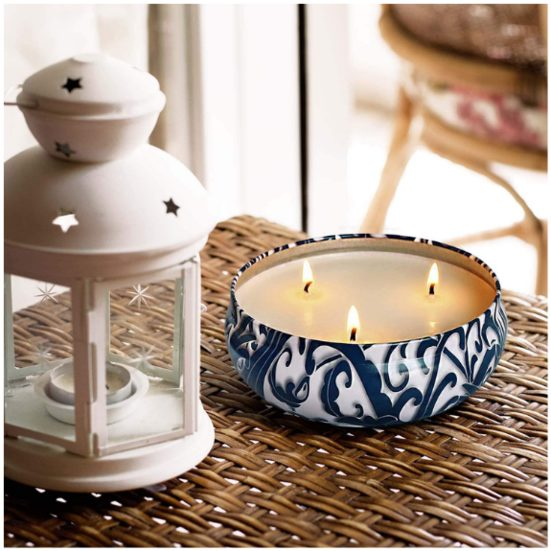 7. Best Bug-Repelling Gift: YYCH Citronella Candles