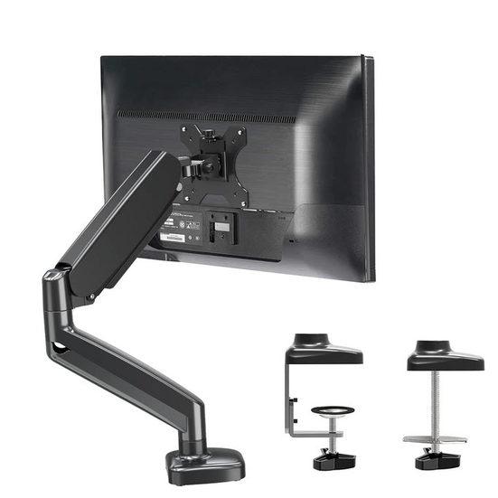 1. Editor's Pick: MOUNTUP Single Monitor Desk Mount - Adjustable Gas Spring Monitor Arm