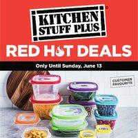 Kitchen Stuff Plus - Red Hot Deals Flyer