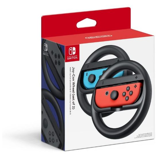 7. Racing Games: Joy-Con Wheel Pair